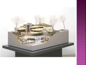ماکت خانه آبشار